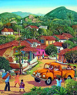 El Salvador ~ Fausto Perez ~The Village Transport