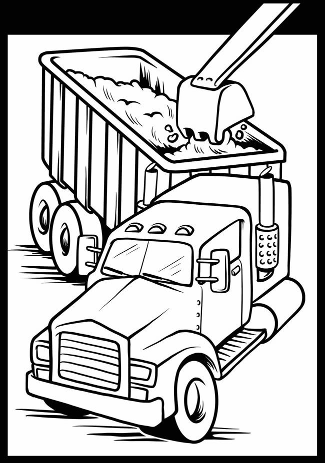 Cool Cars and Trucks Stained Glass Jr. Coloring Book Dover ...