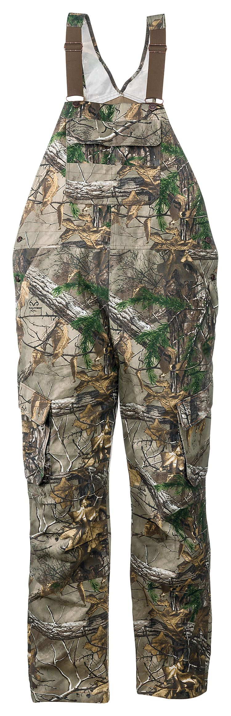 redhead silent hide uninsulated bibs for men bibs on uninsulated camo overalls for men id=24496