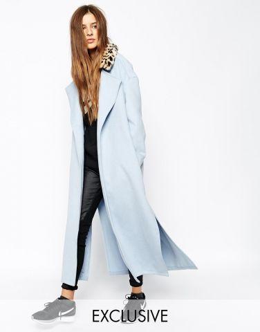 Manteau fourrure chic femme