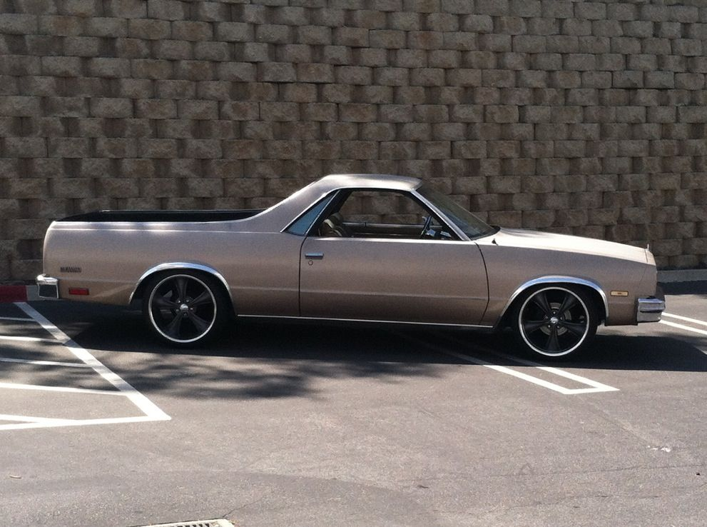 85 Chevy El Camino (With images) Lowrider cars, Muscle