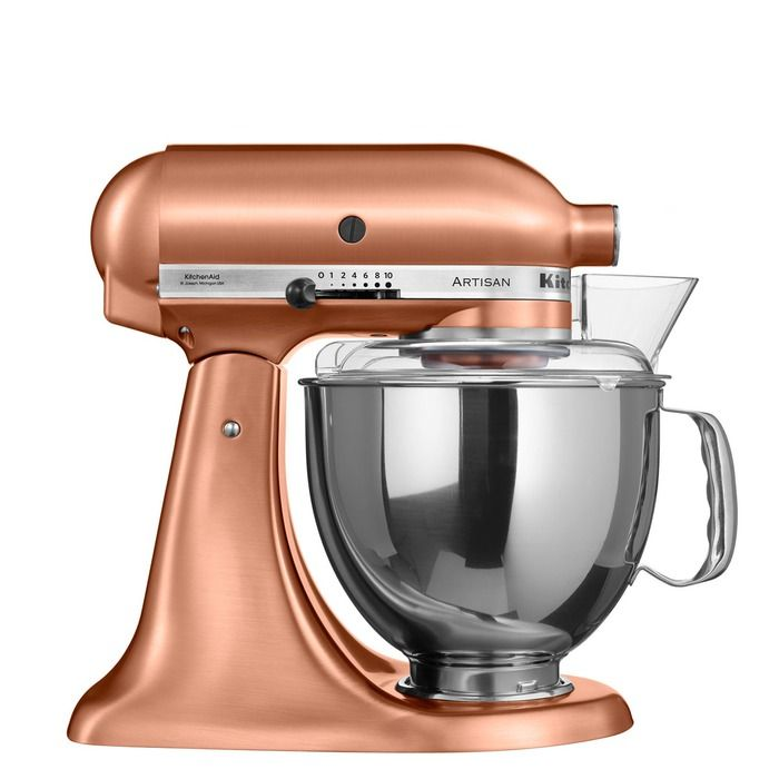 Copper Kitchen Aid Mobile Kitchens Kitchenaid Artisan Stand Mixer 4 83l Kitch Dine 8l Satin