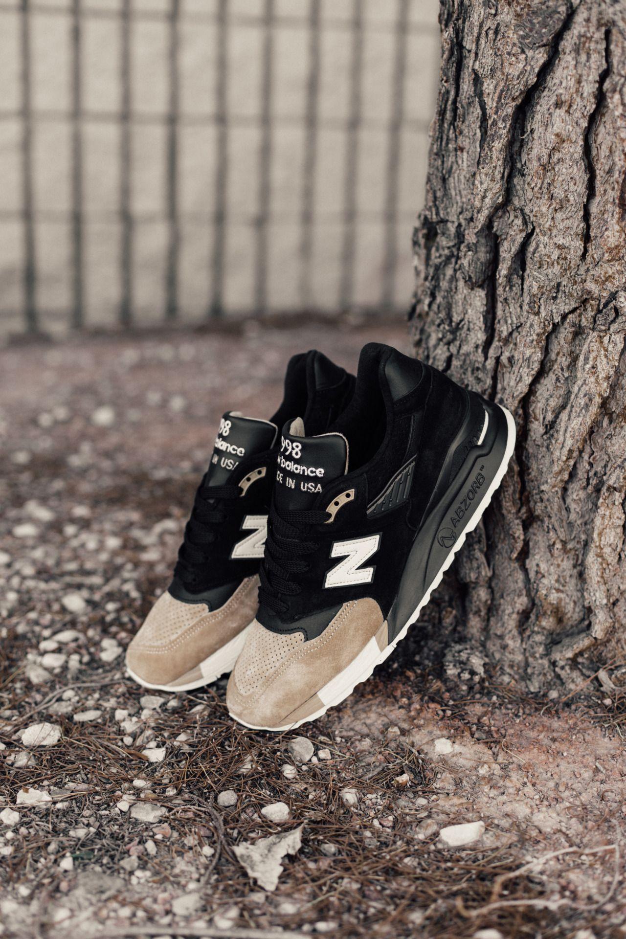 new balance 998 prmr black beige x premier