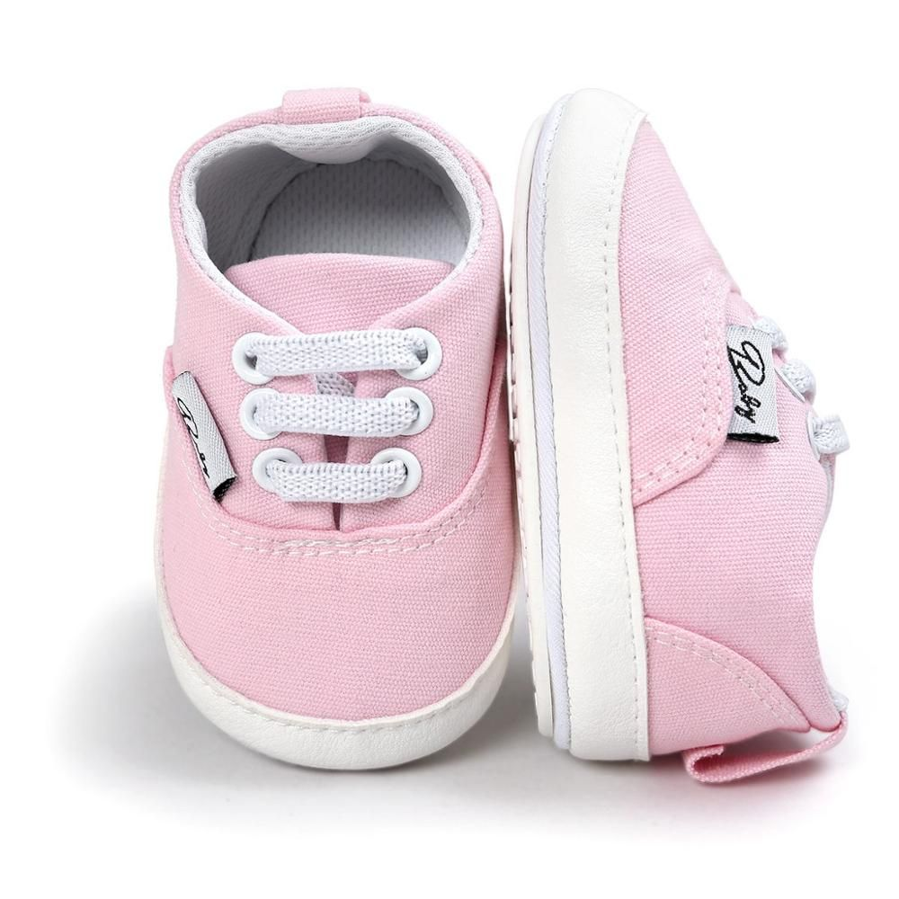 Babys shop Baby Shoes Girls Newborn Girl Boy Soft Sole Crib Toddler Shoes Canvas Sneaker Girls Shoes Casual First Walker