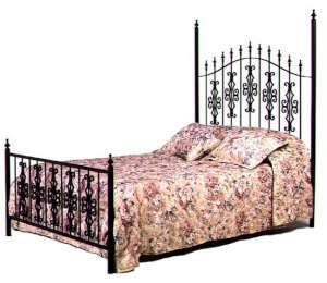 Gothic Gate Style Wrought Iron Bed Frame King Size Iron Bed