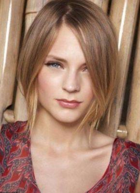 Coupe femme cheveux fins et raides. Shine blond Dun