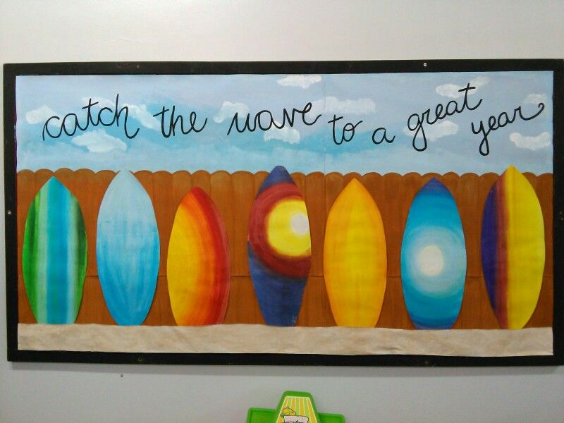 Catch The Wave To A Great Year Surf And Beach Themed Classroom