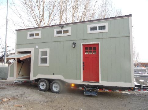 Pin by Upper Valley Tiny Homes on 8x24 Toy Hauler Tiny House