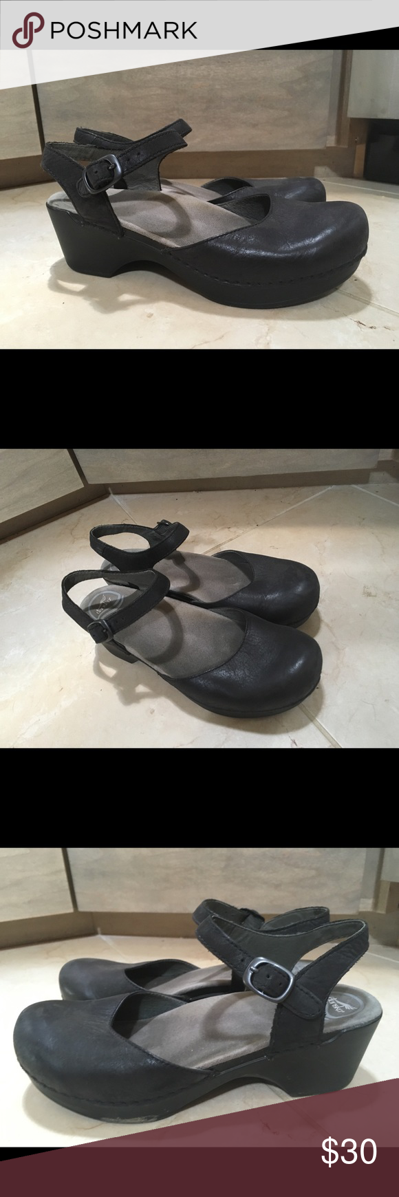 09dff666eab74 Dansko SAM Black soft full grain leather. Great for teaching   nursing    comfort shoes that don t look like the typical clog. I m already tall