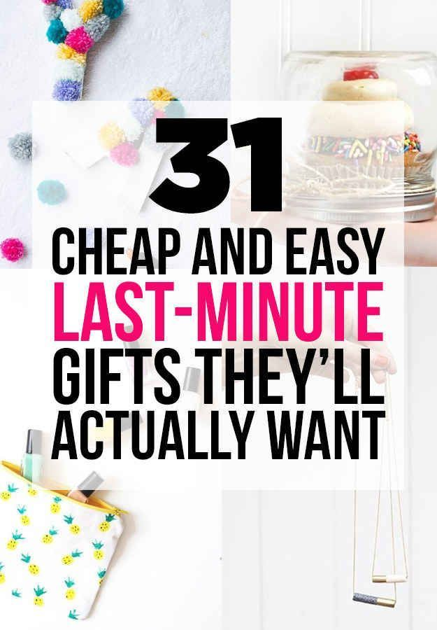 31 Cheap And Easy Last Minute DIY Gift I Will Probably Just Put Them On A Cute Craft Idea Section