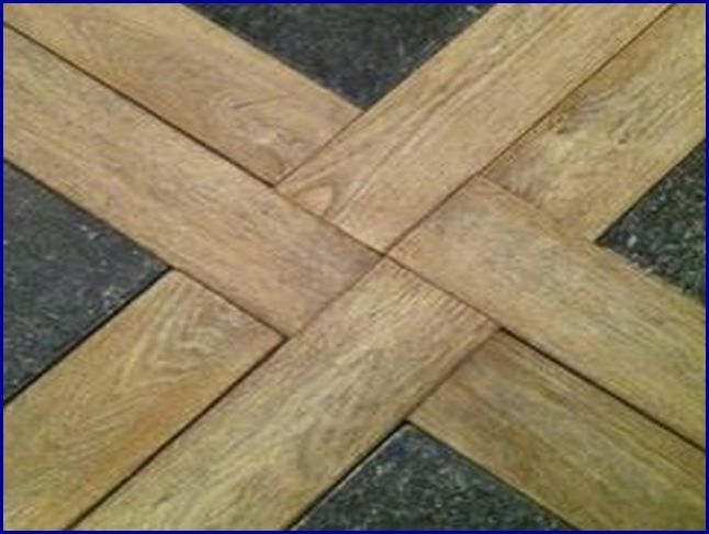 Floor Combination Wooden Ceramic Tile And Wood Combinations