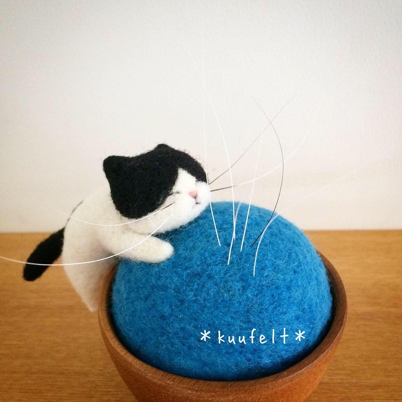 #needlefeltedcat