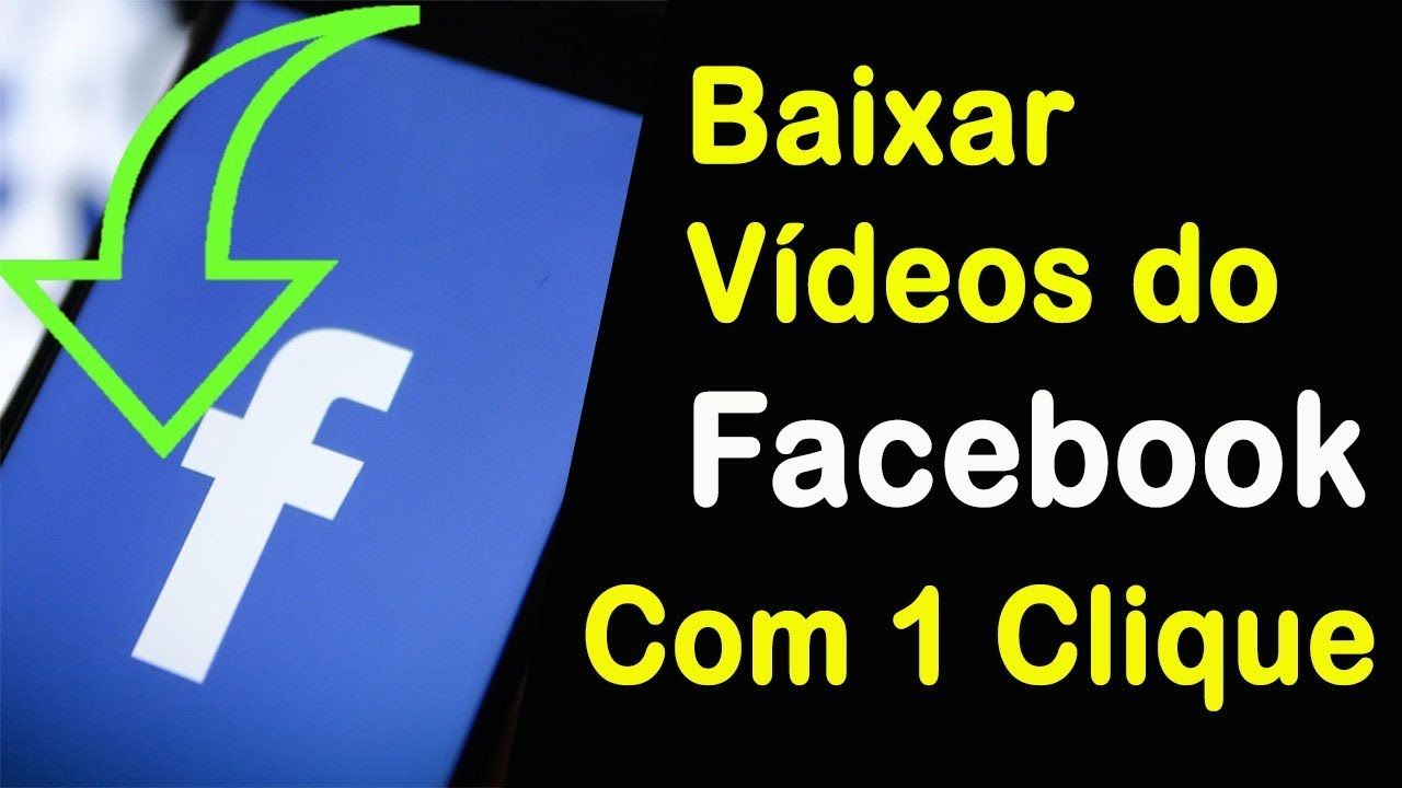 Facebook Mp4 Como Baixar Videos Do Facebook Com 1 Clique