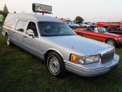 1995 Lincoln Continental Town Car Hearse Hearse Pinterest