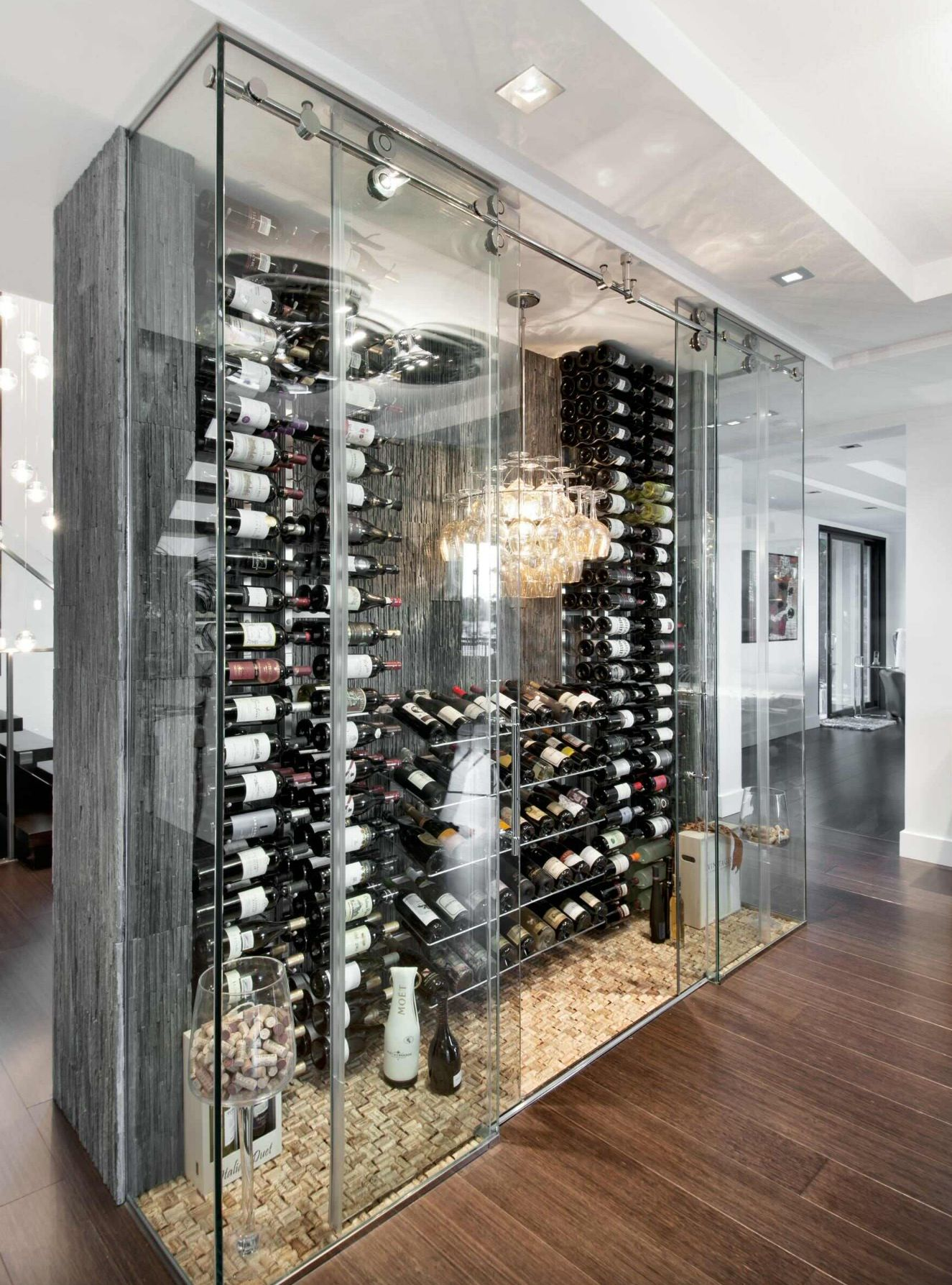 Now This Is A Wine Fridge Home Wine Cellars Glass Wine Cellar