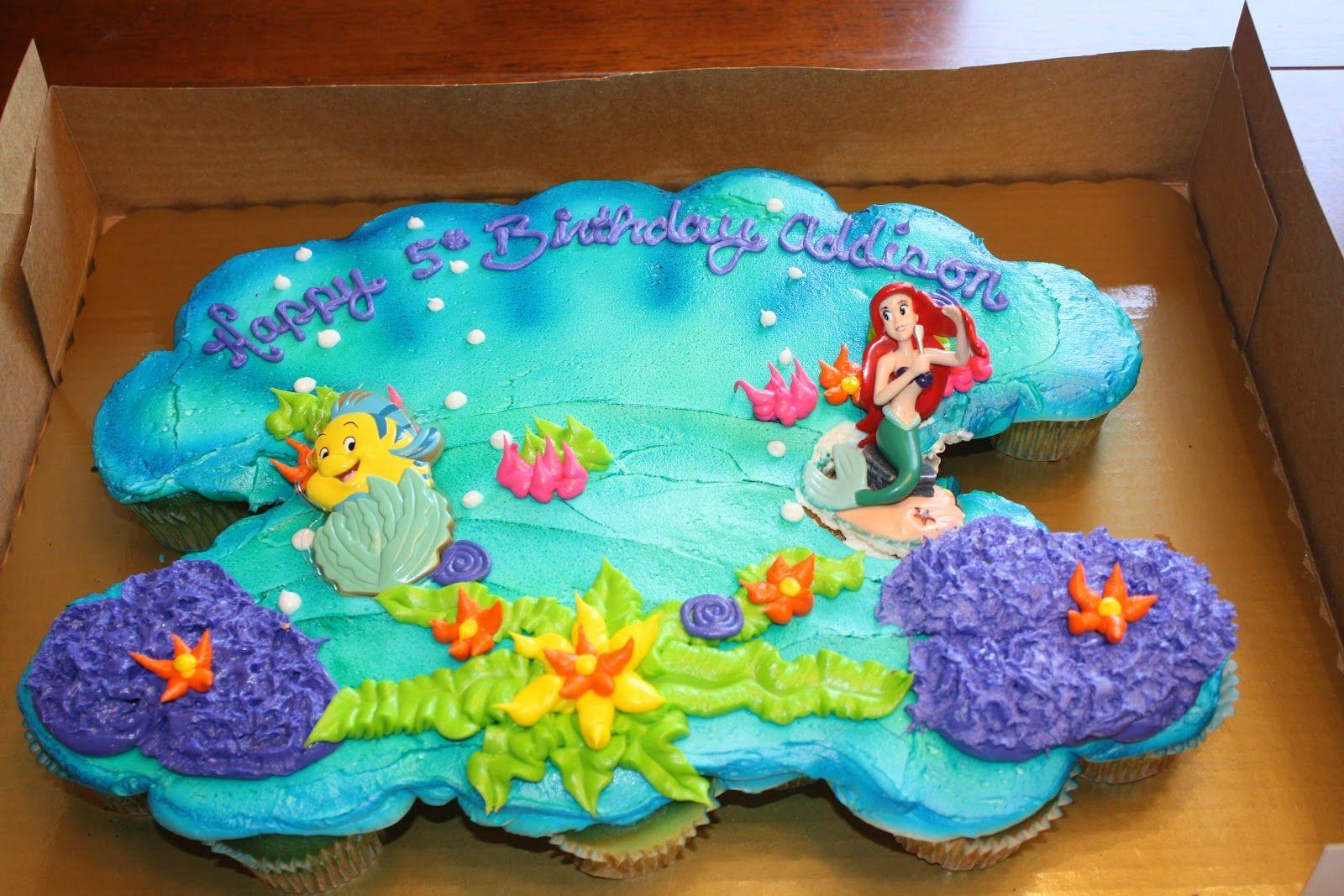 Disney The Little Mermaid Ariel Birthday Cake Anniversary And