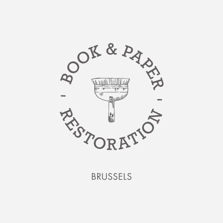 Logo Book & Paper Restoration - Branding, graphic design