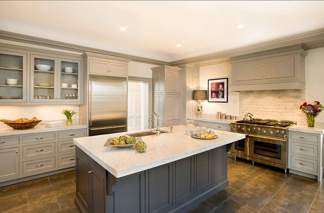 Benjamin Moore Stone Harbor 2111 50 Taupe Kitchen Cabinets Cream Colored Kitchen Cabinets Kitchen Inspirations