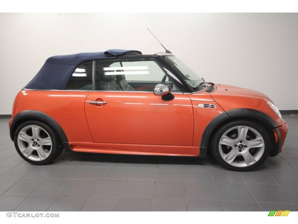 Hot Orange Metallic 2005 Mini Cooper S Convertible Exterior Photo 68225479 2005 Mini Cooper Mini Cooper S Mini Cooper