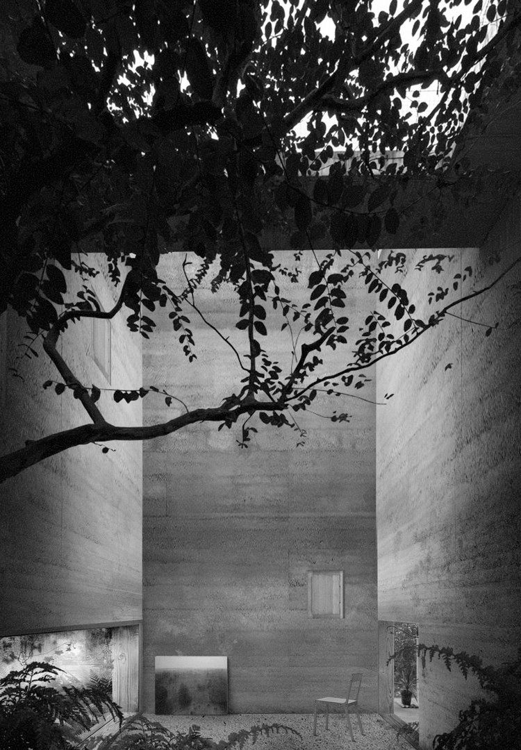 Santo Santiago Houses Tree Jpg Image De Rendu Pinterest Arch  # Muebles New Style Villa Tesei