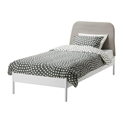 DUKEN Bed frame IKEA If you read or watch TV in bed the soft ...