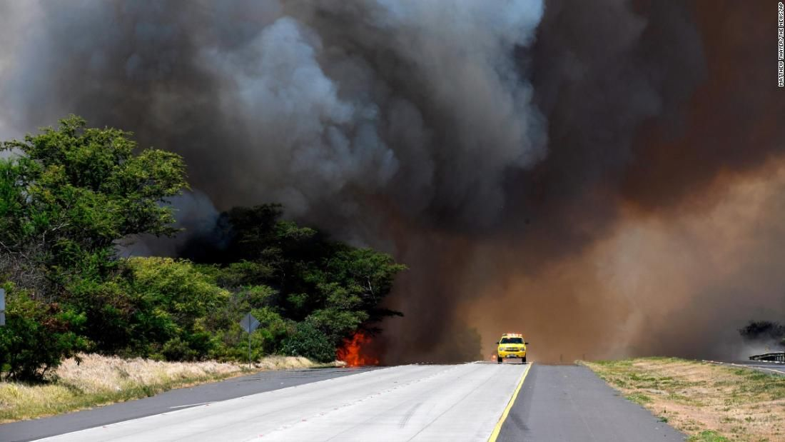 Maui residents can go home, but wildfire persists Hawaii