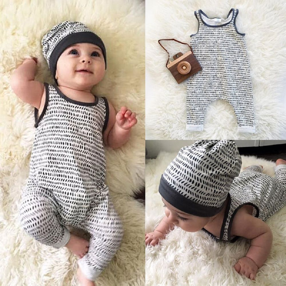 Toddler Baby Boys Girls Rompers Summer New Jumpsuit Cute Outfits Infant Costume