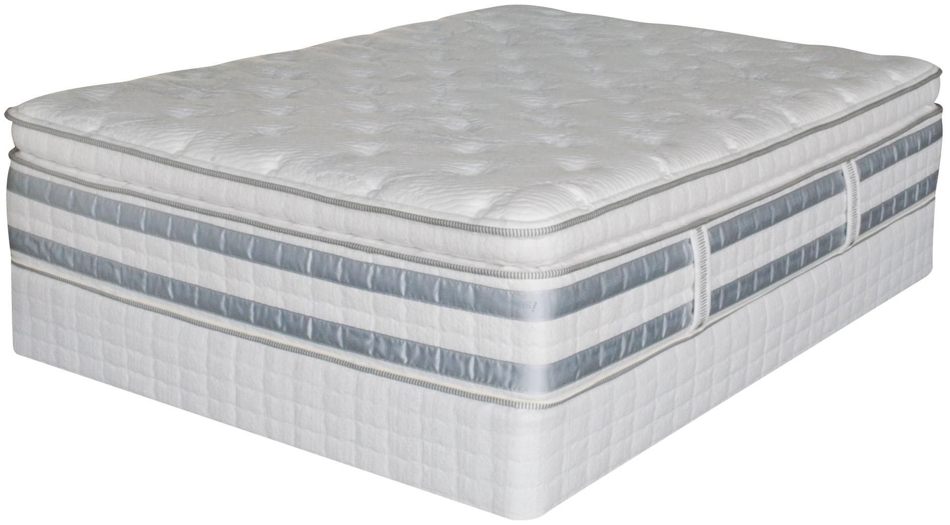Perfect Day Iseries Ceremony Queen Super Pillow Top Mattress Set