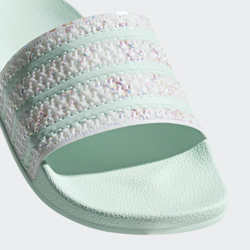 adidas Adilette Slides - Green | adidas