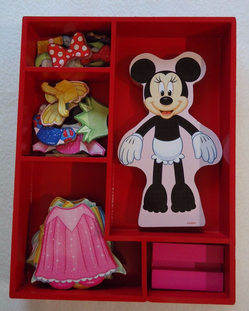 Disney Parks Minnie Mouse Princess Magnetic Dress Up