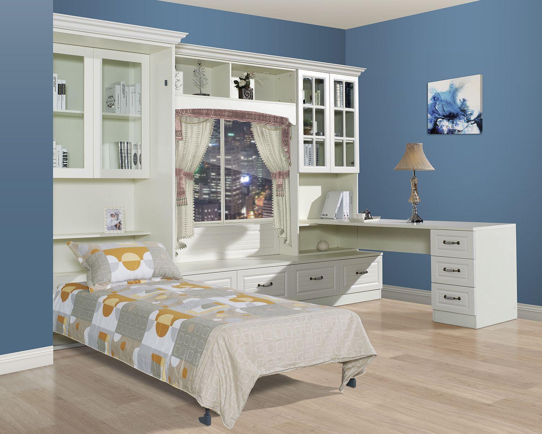 田园风光之书房组合 (With images) Loft bed, Home decor, Furniture