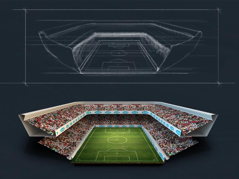 Soccer Stadium Concept Soccer Stadium Stadium Soccer