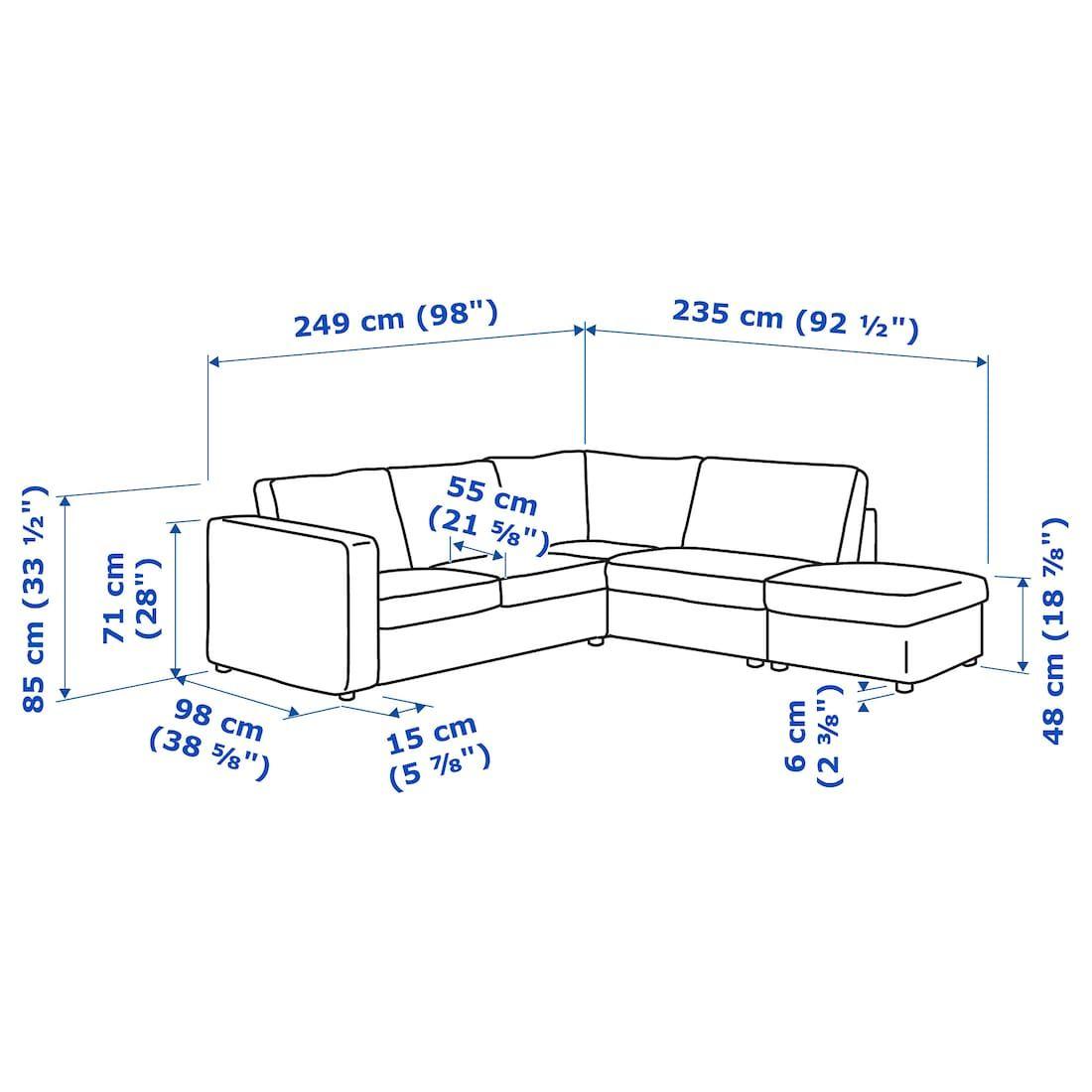 Finnala Sectional 4 Seat Corner With Open End Gunnared Beige Ikea In 2020 Ikea Sectional Ikea Vimle
