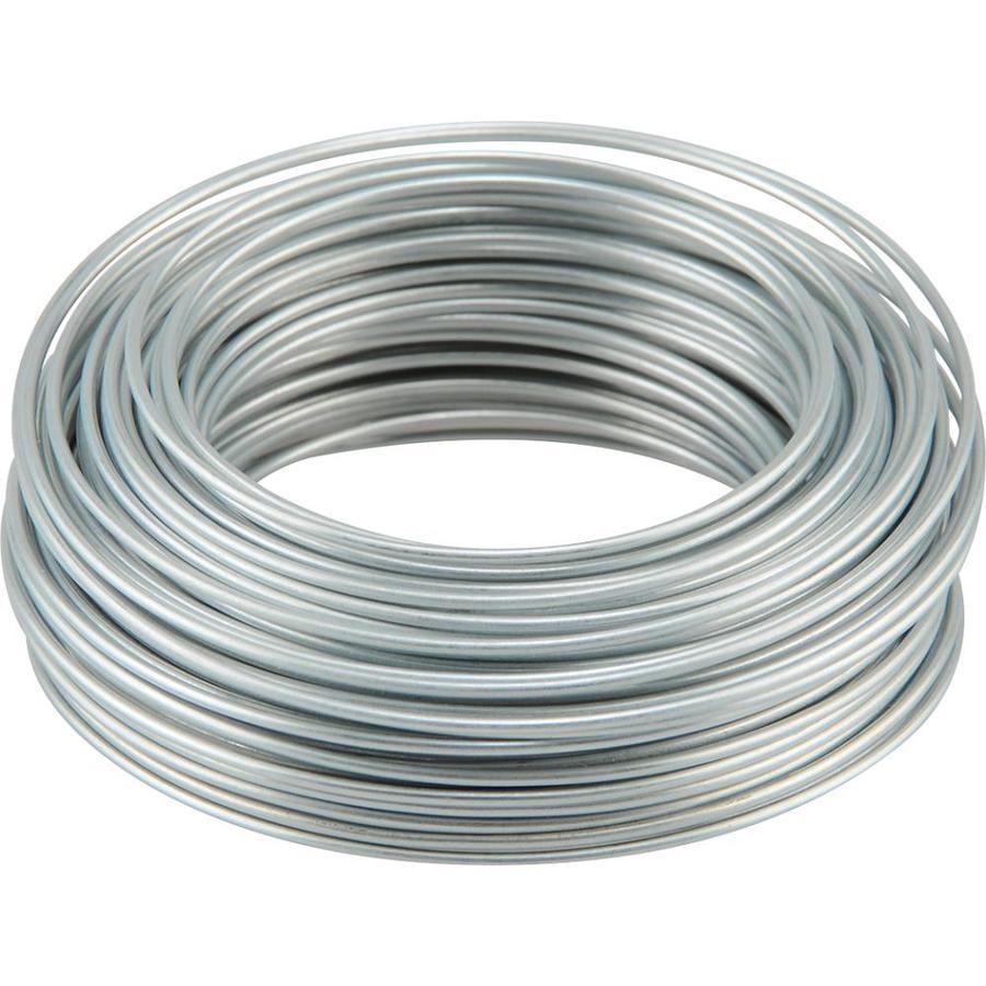 Hillman 19 Gauge Galvanized Steel Wire At Lowes Com Galvanized