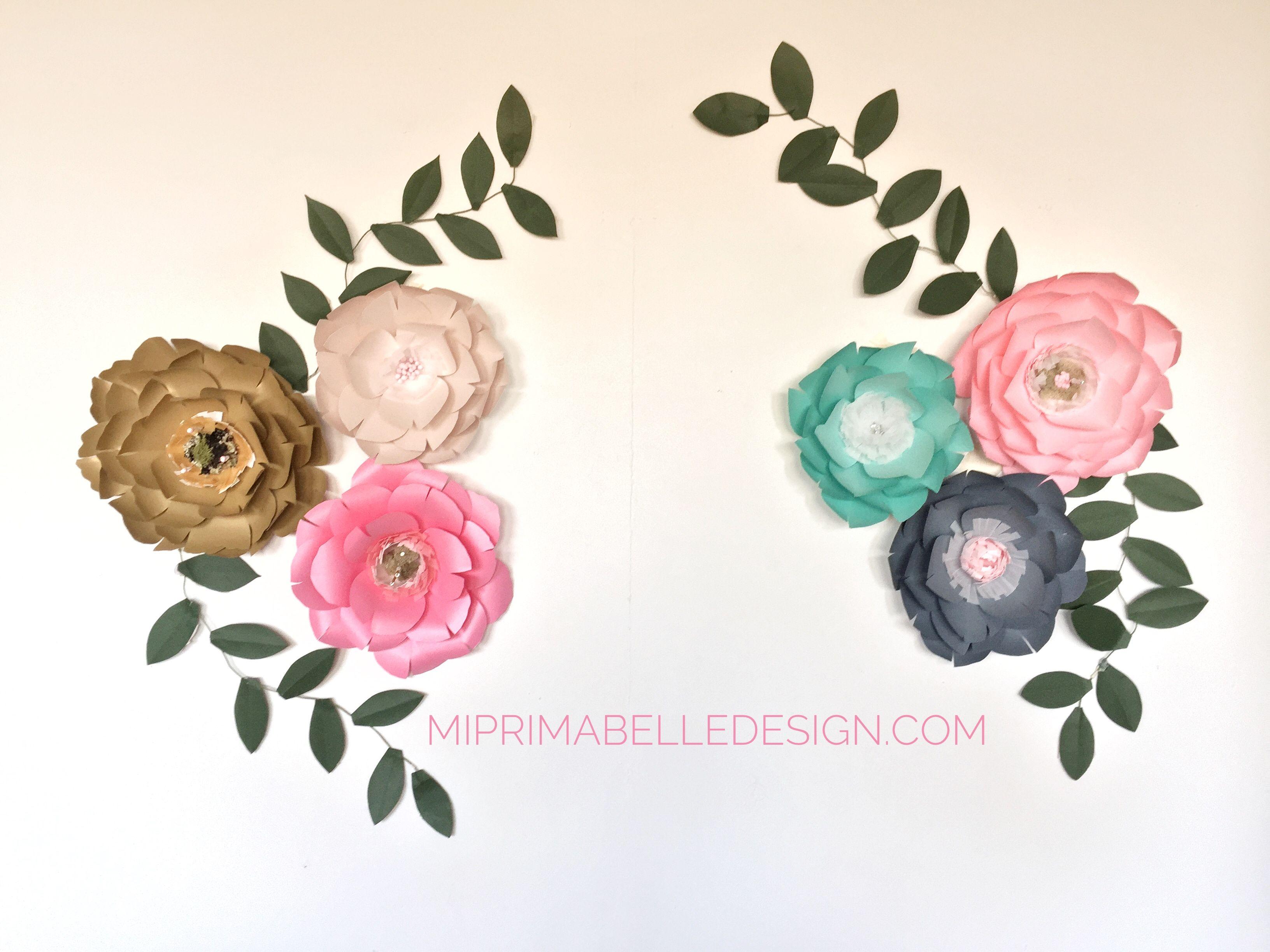 Mi Prima Belle Sells Paper Flowers On Etsy Gorgeous Paper Flowers