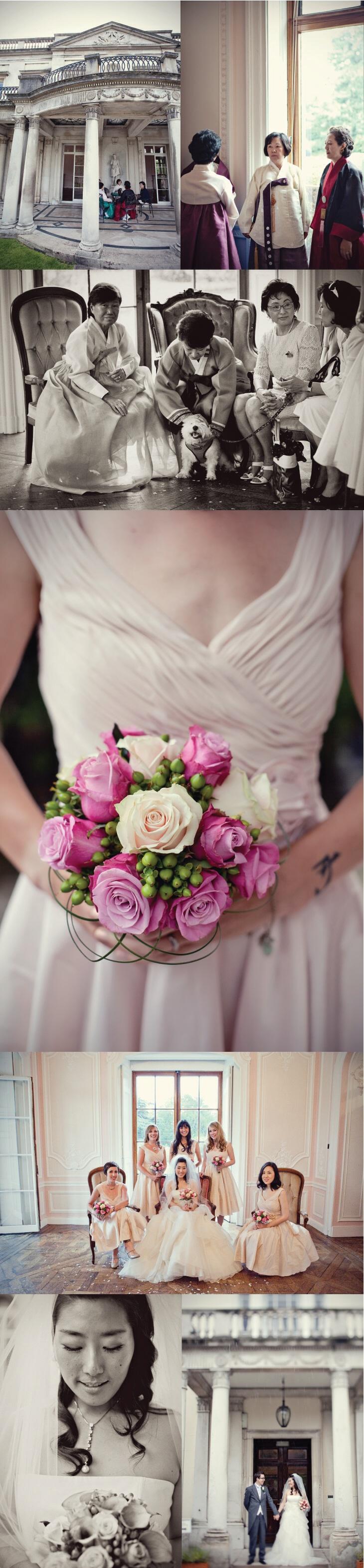 Korean English Fairytale Wedding by Marianne Taylor Photography