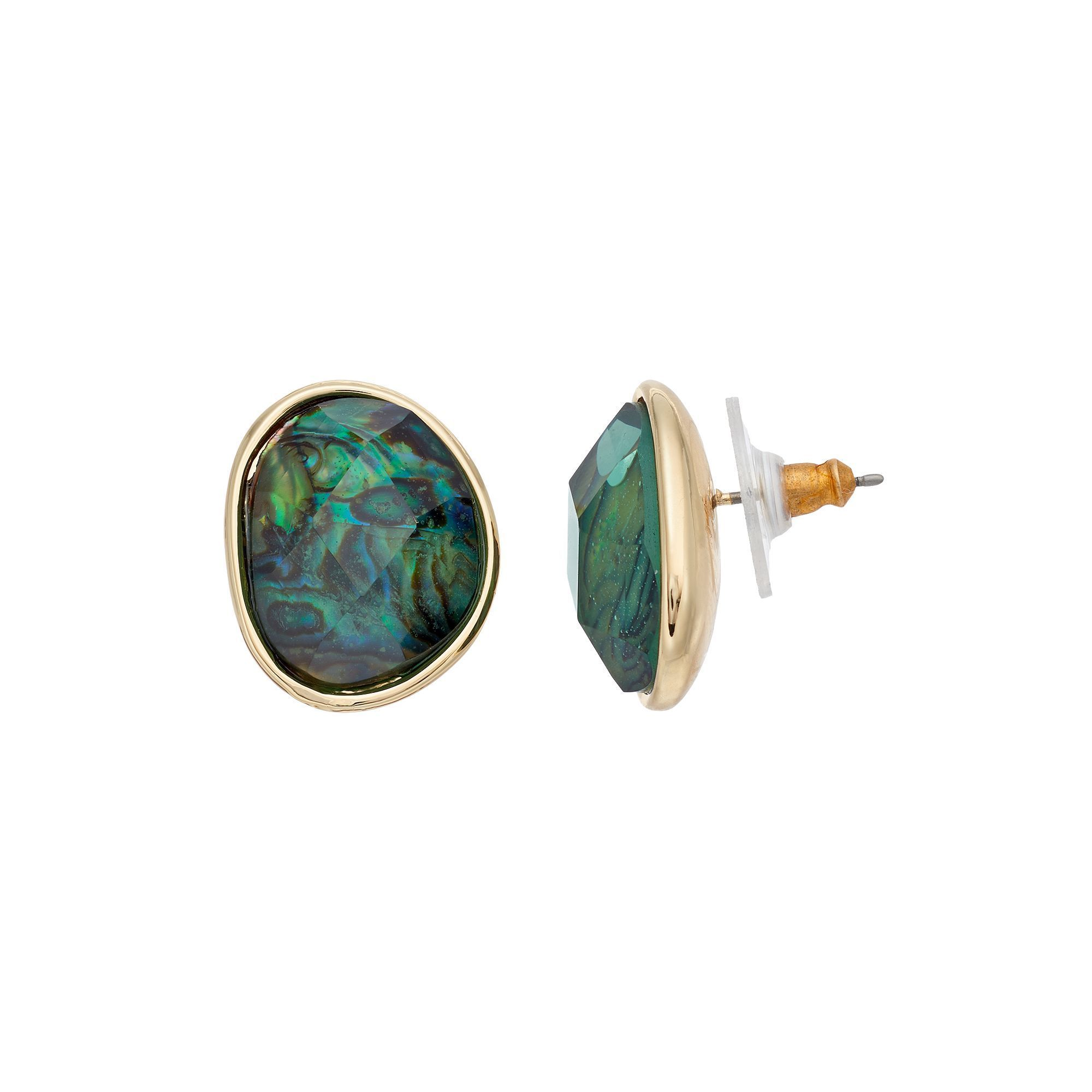 lyst of jewelry sunburst abalone stud house harlow metallic gallery in earrings