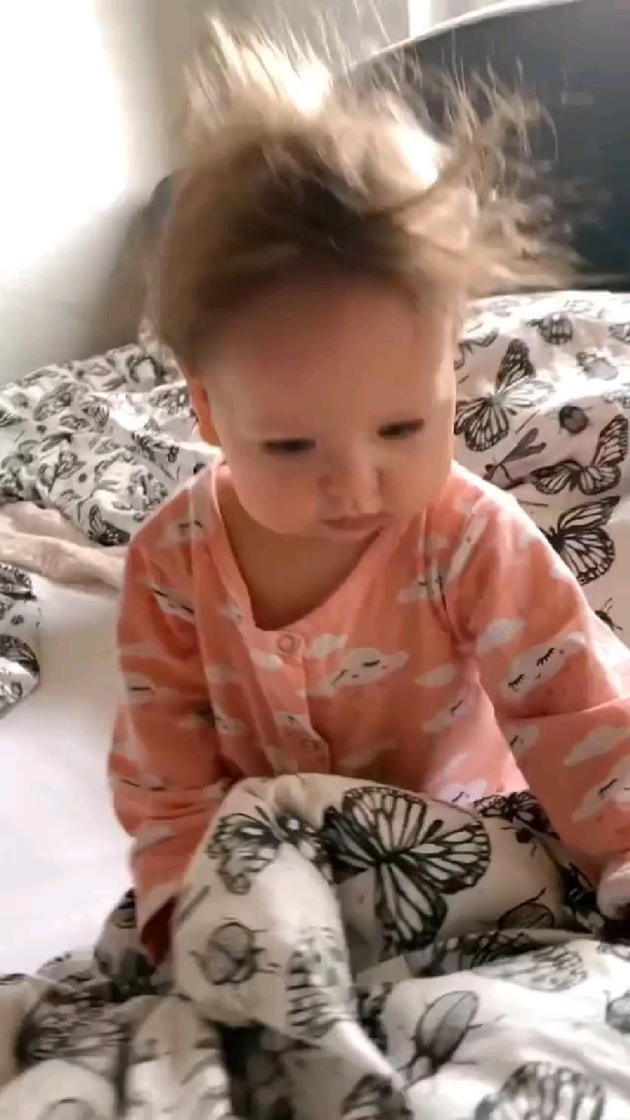 Awww so cute baby