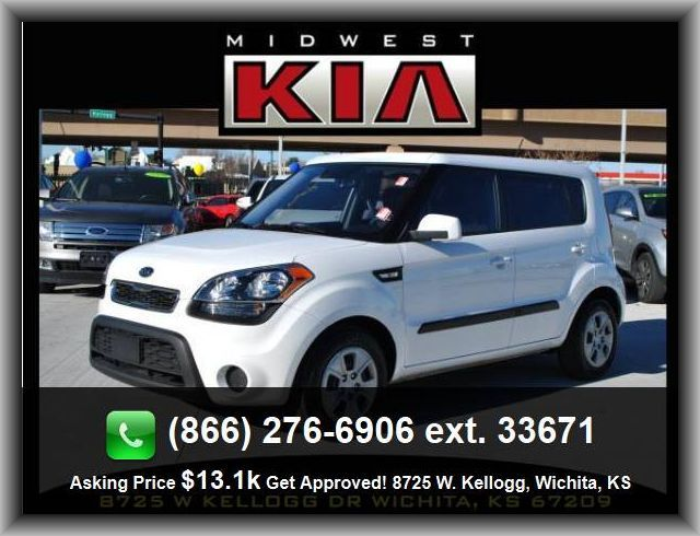 2012 Kia Soul Base Wagon Digital Audio Input, Fuel Consumption: City: 25 Mpg,  Surround Audio, Black Grille W/Chrome Surround, Rear Bench, ...