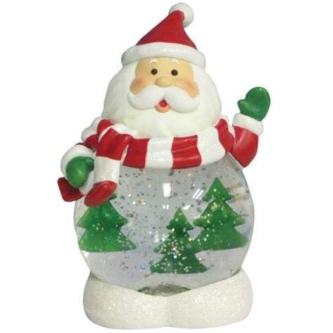 Lenox Christmas Snow Globes Bestseller Lighted Santa Claus Figurine Globe Wi Christmas Snow Globes Holiday Christmas Tree Snow Globes