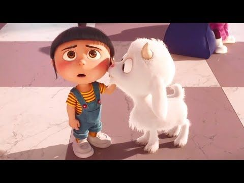 Despicable Me 3 Agnes Memorable Moments Hd 2017 かわいい