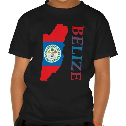 belize t shirts | Map Of Belize Tee Shirts