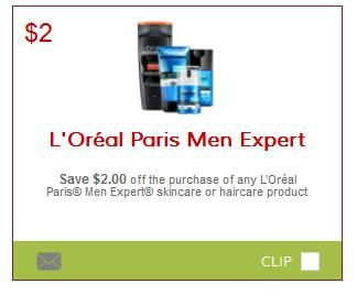 graphic regarding Loreal Printable Coupon named Help save $2 Upon LOreal Guys Marketing consultant Items Printable Coupon