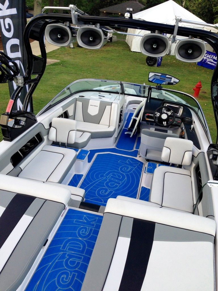 SeaDek's Super Air Nautique 230 is up for sale. Built in