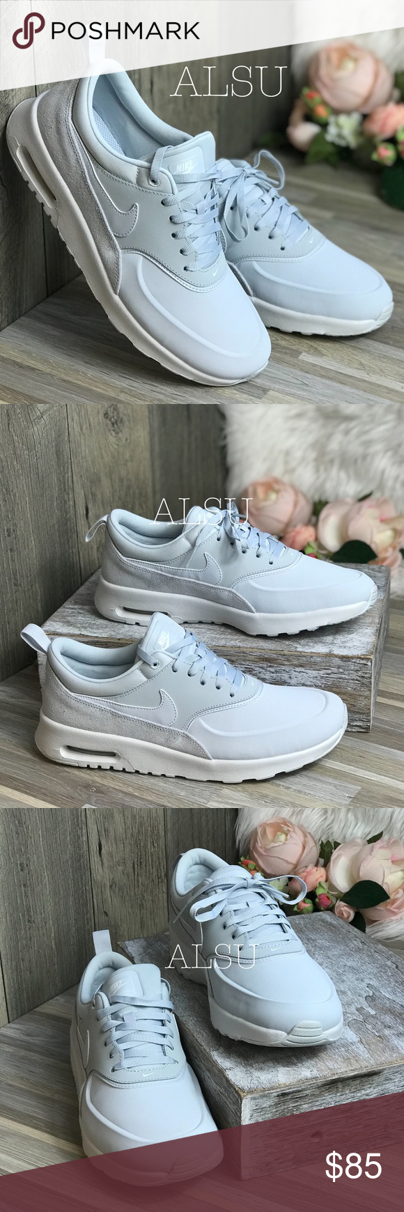 NWT Nike Air Max Thea PRM Pure Platinum W AUTHENT Brand new