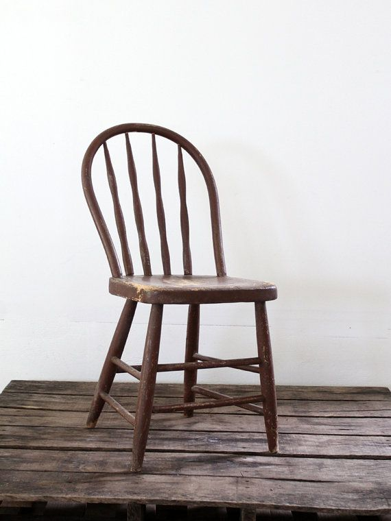 Wood Chair How To Antique Wood Spindle Chair Chair