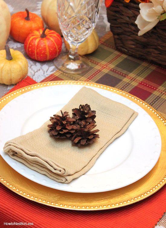 Thanksgiving Table Setting Ideas - Thanksgiving Place Settings & Thanksgiving Table Setting Ideas - Thanksgiving Place Settings ...
