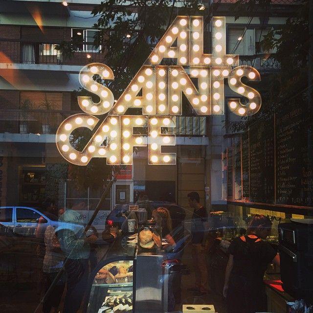 All Saints Cafe - #Cafe #BuenosAires http://www.guiaoleo.com.ar/restaurantes/All-Saints-Cafe-15626