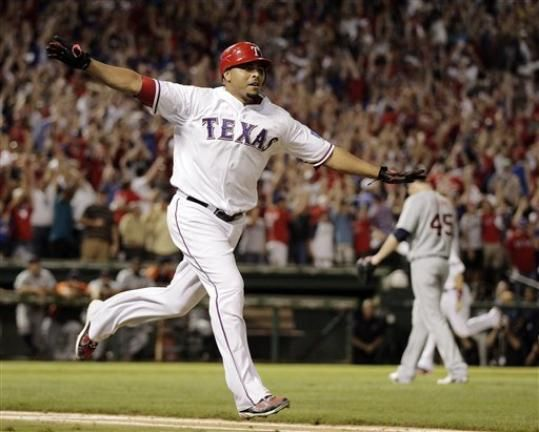 2011 ALCS Game 2 Nelson Cruz Hits A Walk Off Grand Slam For The Win 7-3