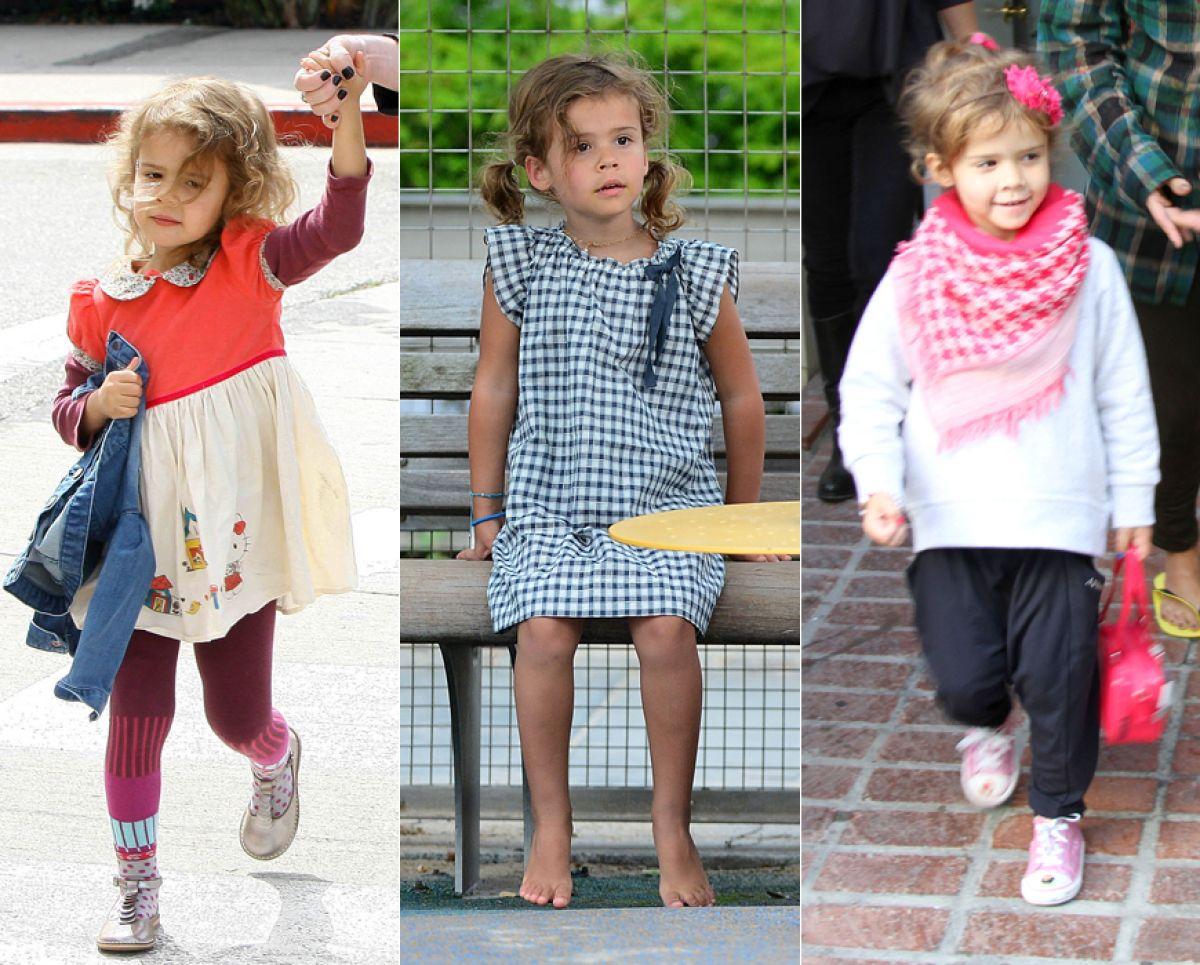 Suri, Kingston y Honor: Los niños más 'fashion' de Hollywood
